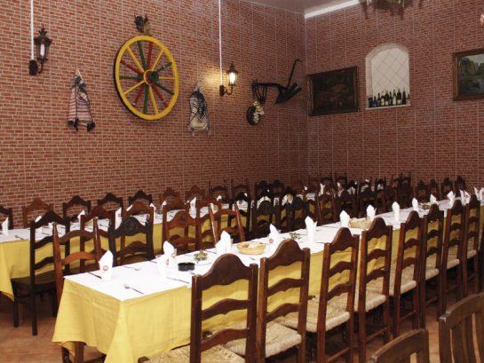 Restaurante dois Irmãos Instalações